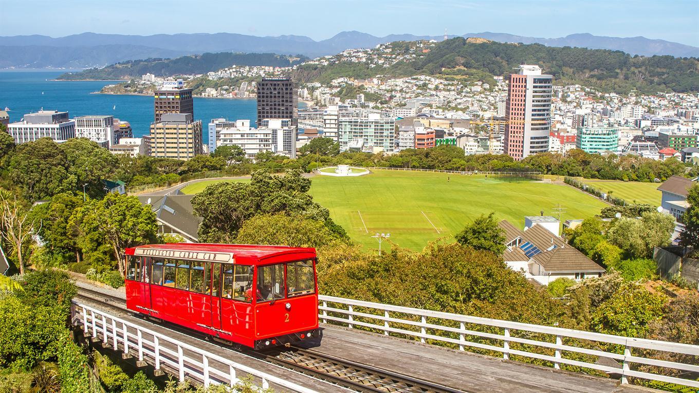 El cablecarril de Wellington.