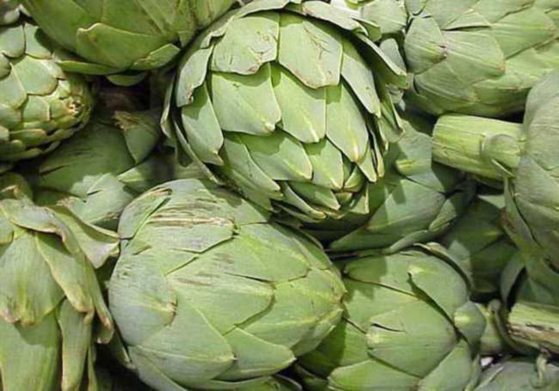 Alcachofa, Limpieza Natural