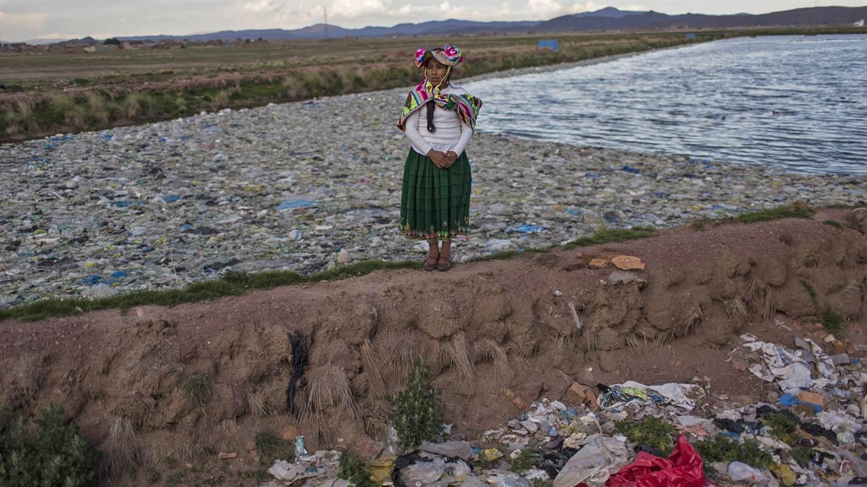 Lago Titicaca contaminado, Maruja Inquilla