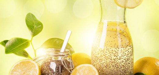 Limon con Chia, Quema Grasa Natural