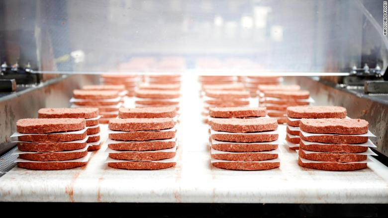 Impossible Foods Hamburguesas Sin Carne