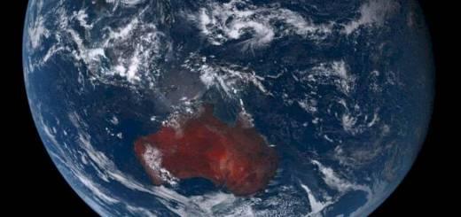 142 hectáreas de incendios en Australia que se ven desde el espacio