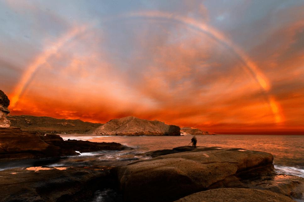 ¿Cómo se forman los colores del arcoiris?