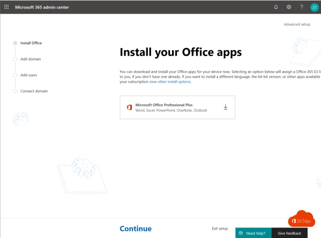 Install your office apps