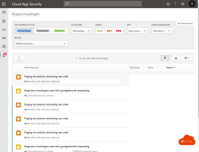 Cloud App Security automation