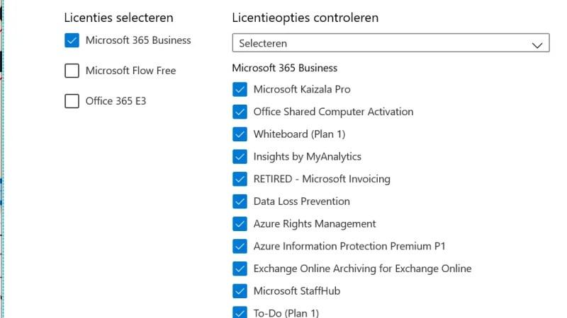 Hoe voeg je Office 365 licenties toe aan groepen van mensen