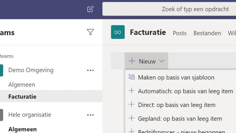 Mails uit je gedeelde mailbox afhandelen in Microsoft Teams met PowerAutomate