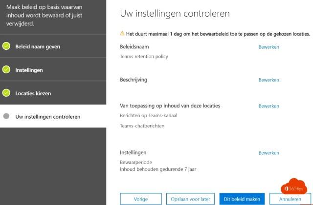 Microsoft Teams governance DLP