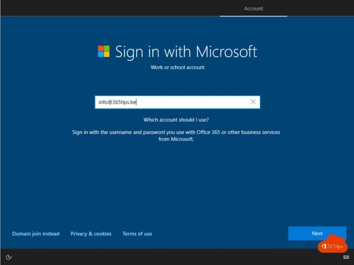 Windows 10 installeren + toestel in modern beheer brengen met Intune