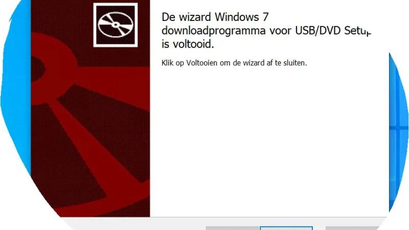 Bootable Windows 10 USB stick maken met USB Tool van Microsoft