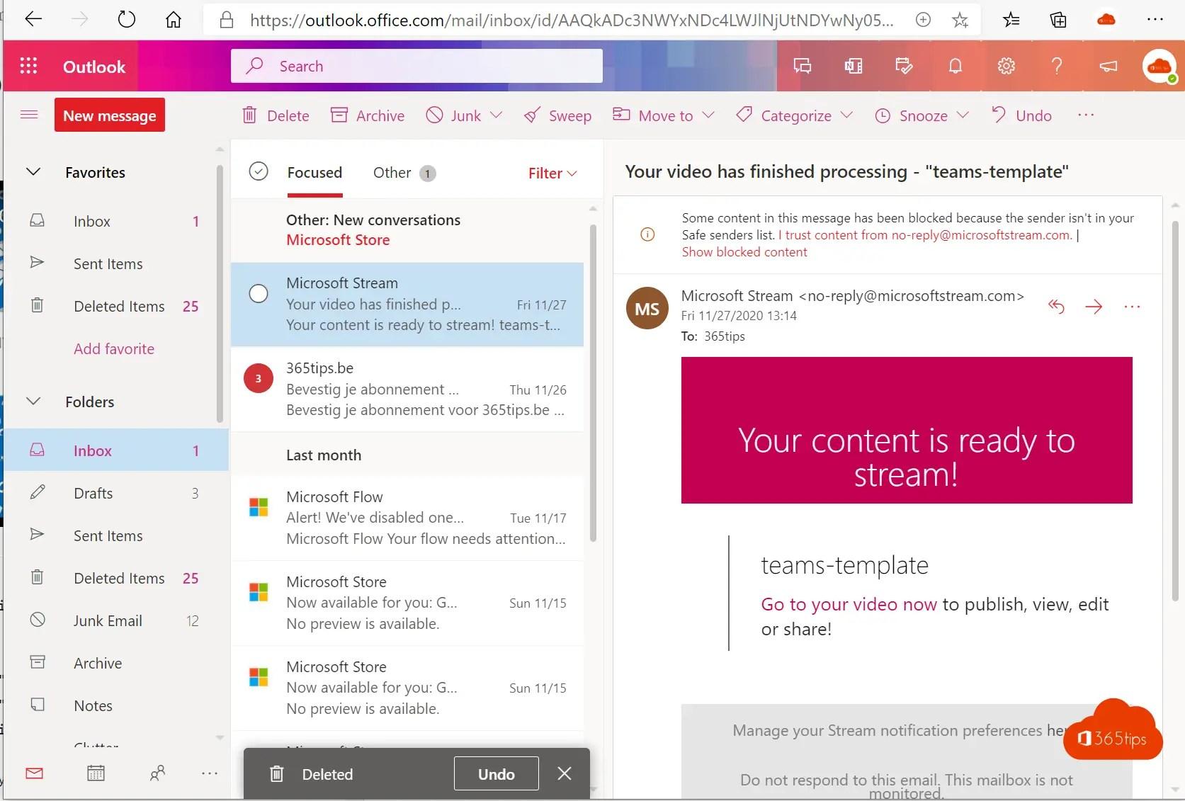 Microsoft Outlook: Tips voor het gebruik van e-mail in Office 365