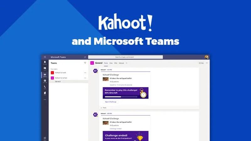 Kahoot in Microsoft Teams | Startersgids