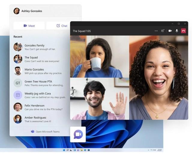 Windows 11 Chat Microsoft Teams Native Geïntegreerd