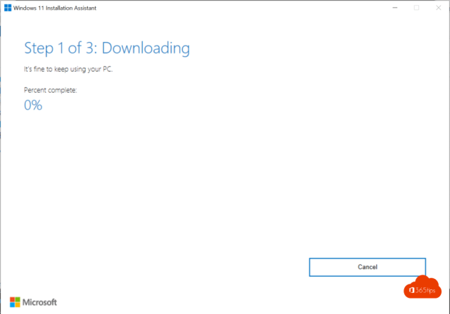 Windows 11 downloading Assistent