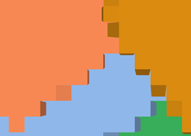 Create A Colored Plane with CSS3 3D Transforms and Javscript - SPREAD