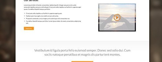 Franck's Fashion Landing Page PSD Template