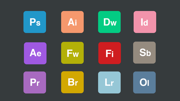35 Adobe Product Amp App Icon Sets Updated For 2018 365