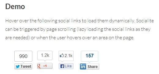 Creating Custom Social Share Buttons With Socialitejs
