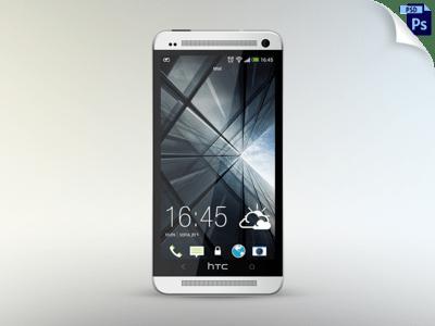 Free HTC One mockup