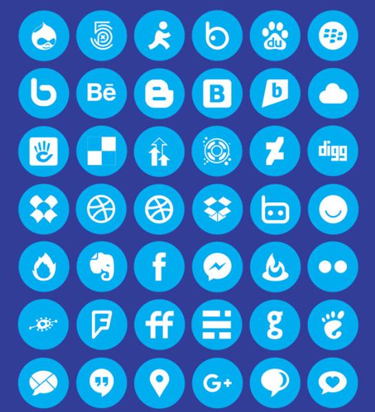 IcoFont Social Icons
