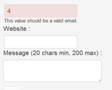 Powerful Javascript Form Validation - Parsley js