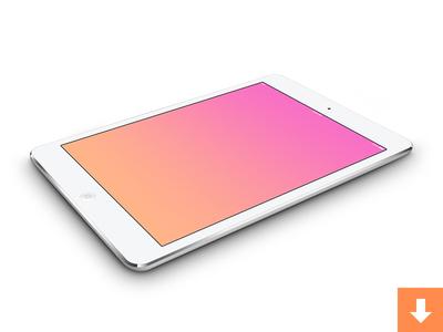 iPad mini PSDs