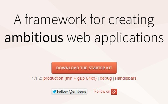 A Javascript Framework For Creating Ambitious Web Applications - Emberjs