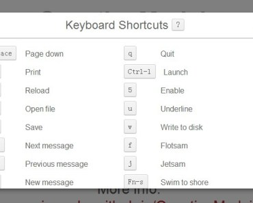 Creating A Shortcut Keys Modal Window For Your App Using QuestionMarkjs