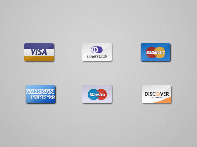 Credit Cards Icons (psd)