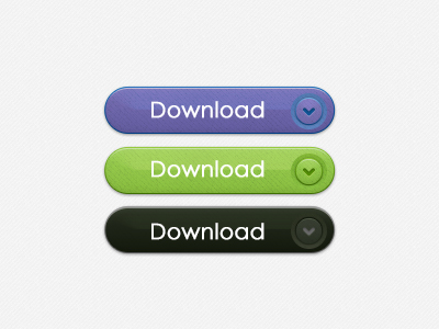 Free Download Button PSD