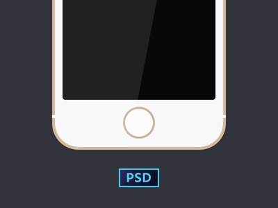 Freebie a Simple iPhone 5s (PSD)