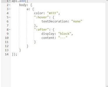 JavaScript Based CSS HTML Preprocessor - AbsurdJS