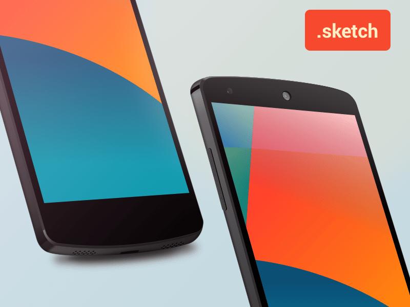 Nexus 5 Sketch template