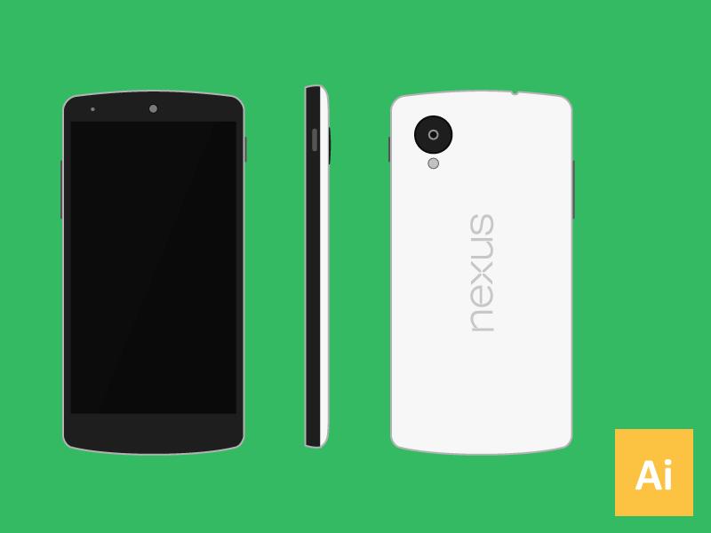 Nexus 5 Vector