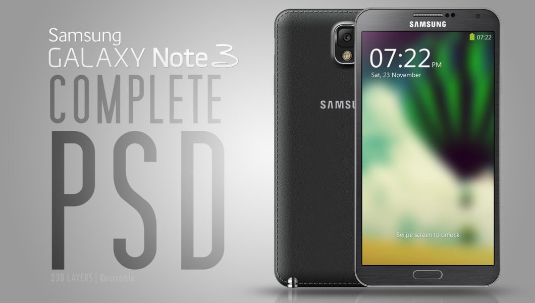 Galaxy Note III - PSD