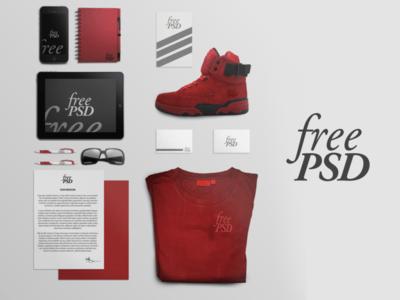 Branding Stationery Free PSD