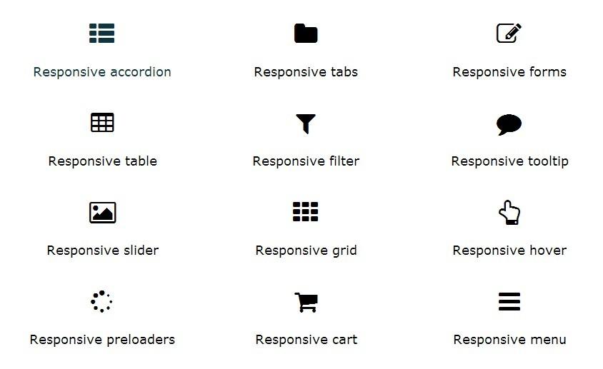 Free-responsive-framework