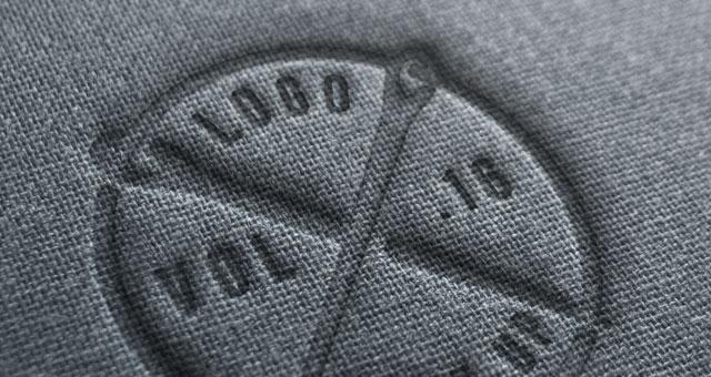 Linen Logo Mock-Up Template