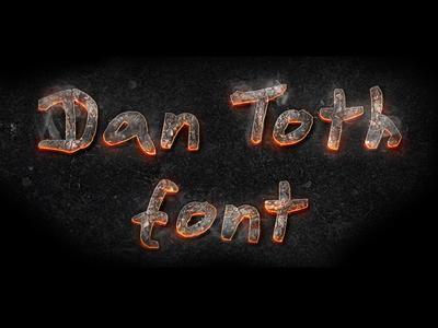 Dan Toth Font