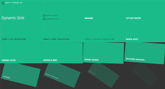 Dynamic Grid with Transitions