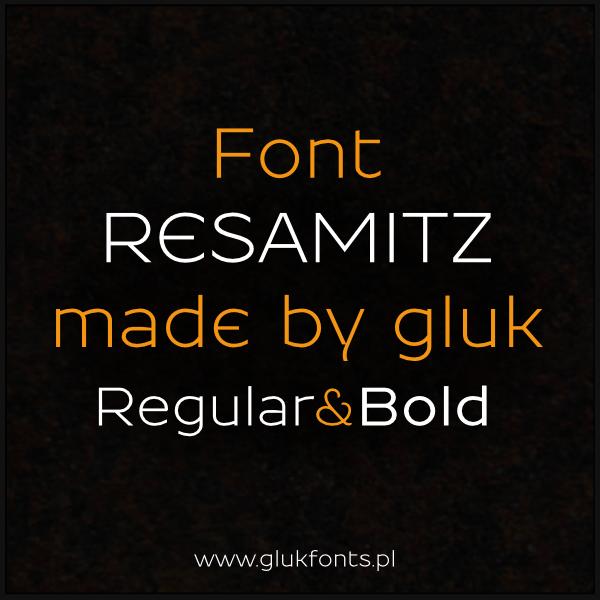 Free font Resamitz