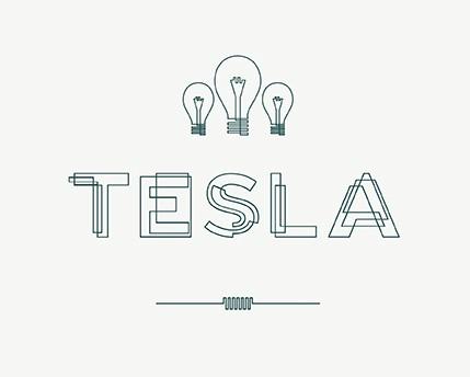 Tesla Font + Free Download