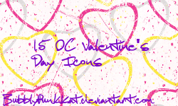Valentine's Day OC Icon Pack