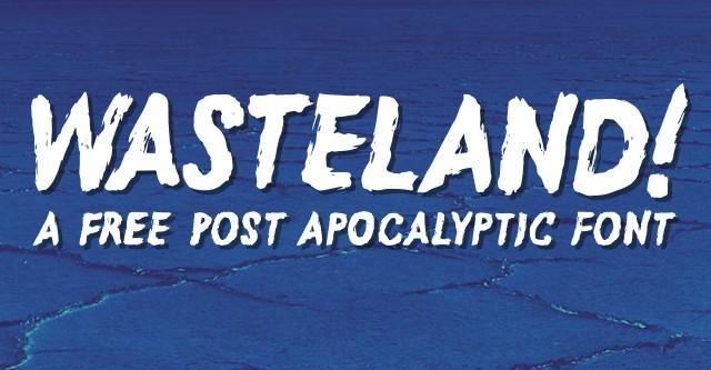 Wasteland Free Font