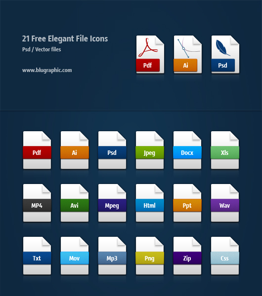 Elegant File Icons