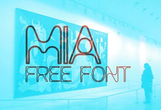 MIA FREE FONT