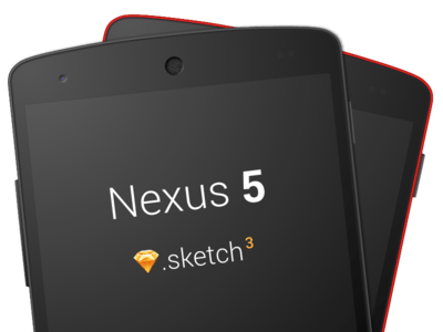 Nexus 5 Sketch 3 Template