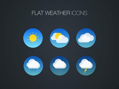 Weather Icon Freebie for Sketch