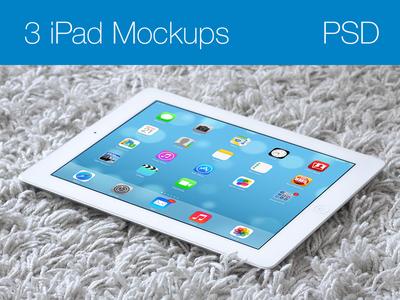 iPad Mockups PSD