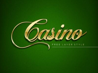 Golden Casino Layer Style